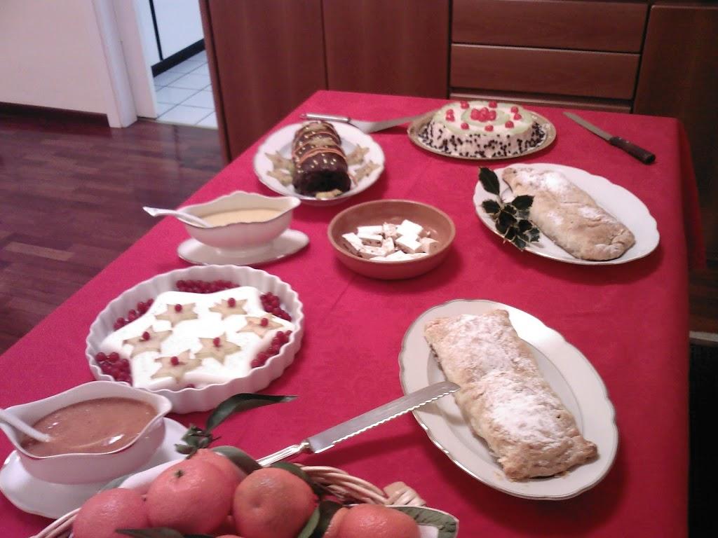 buffet di Natale