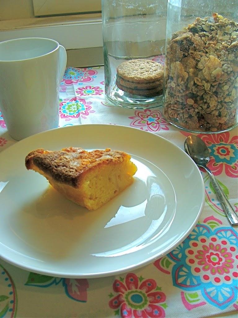 torta di pere e mandorle