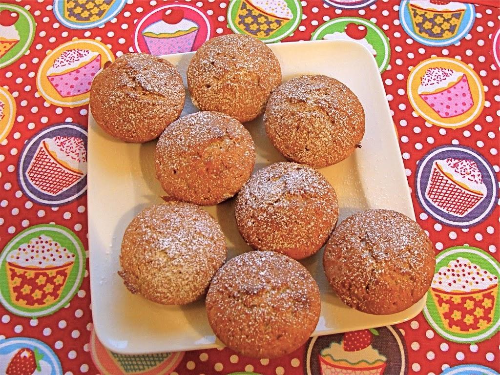 Muffin banana e cannella