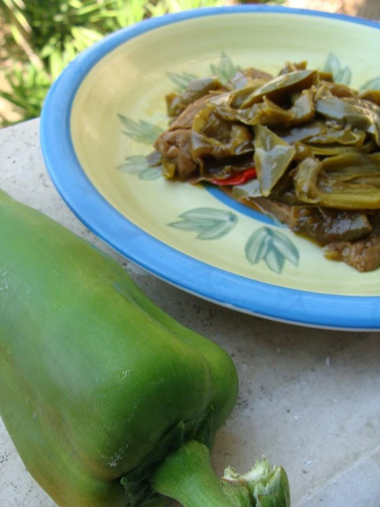 Seitan con i peperoni