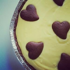 Cheesecake alla crema di cioccolato