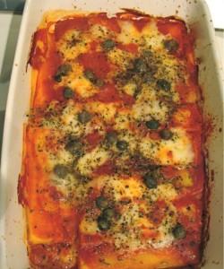 Polenta alla pizzaiola