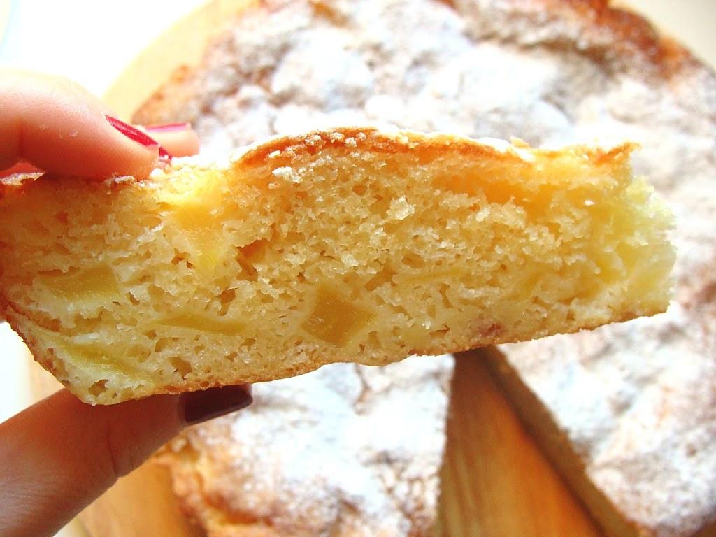 Torta fragole e mele