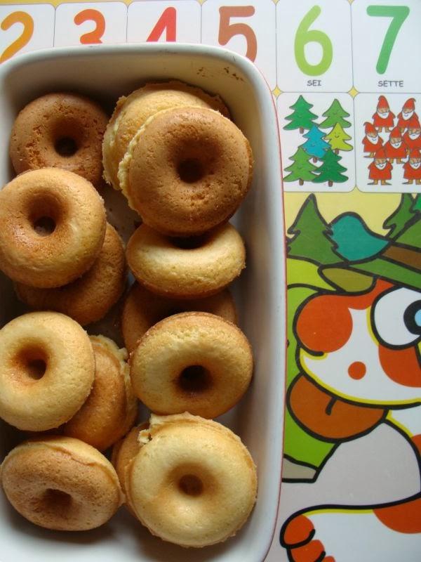 Mini Donuts alla piastra