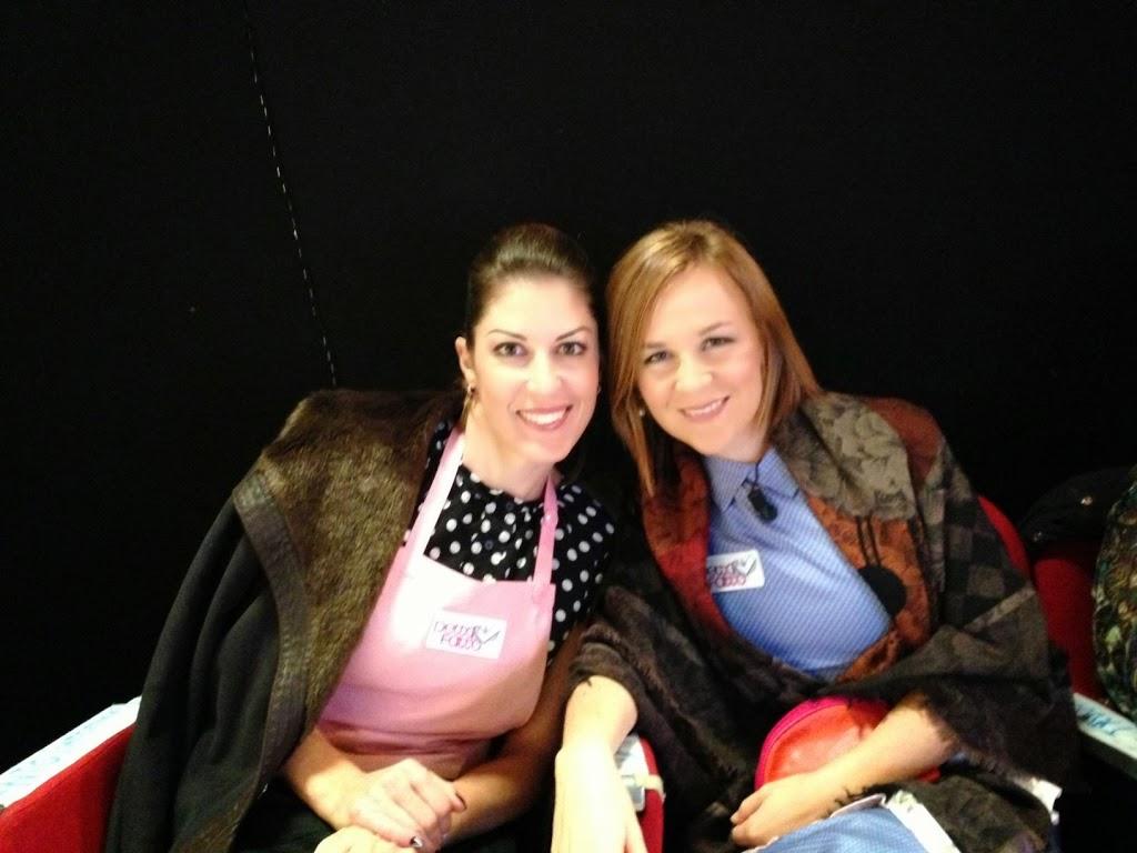 Giorgia con Irene Merlo