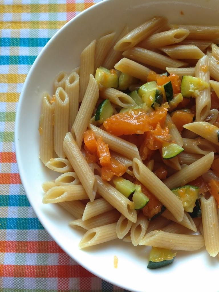 Ricette pasta integrale e pesce