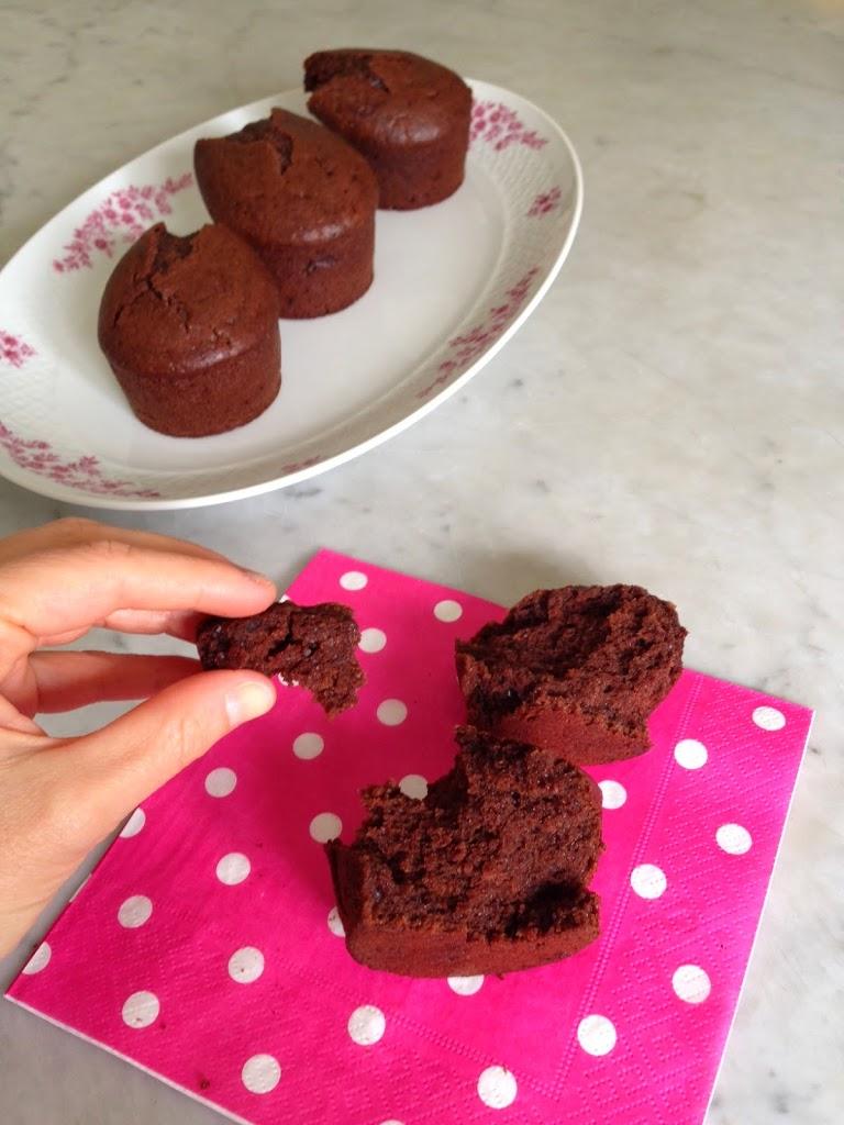 Muffins veg al cacao
