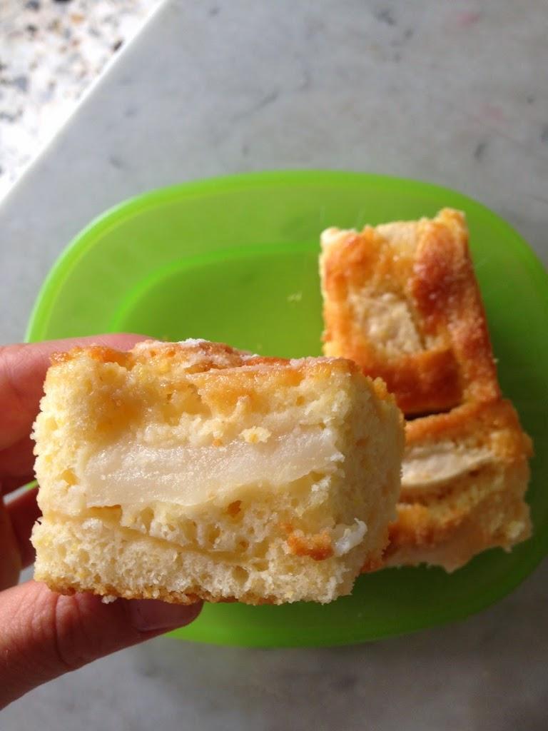 Torta di mele e pere con farina fioretto