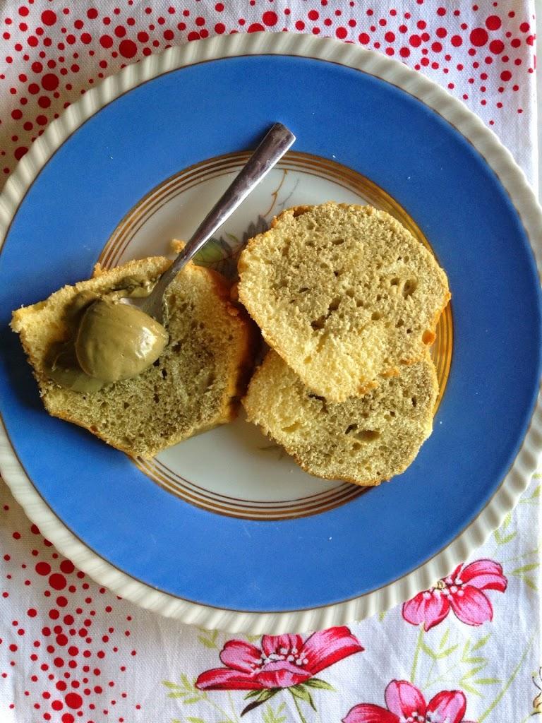 Ciambella al pistacchio