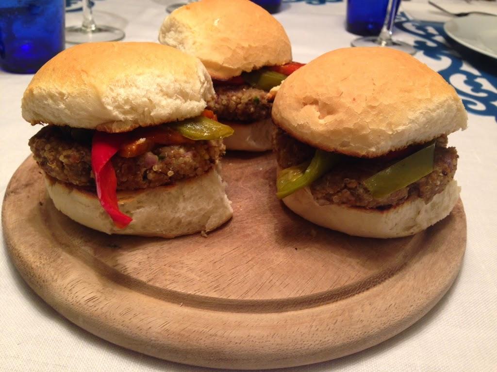 Burger veg di verdure e legumi