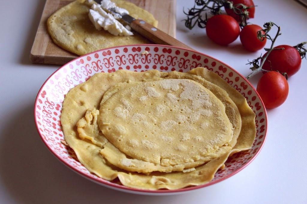 Ricetta crepes di castagne senza uova
