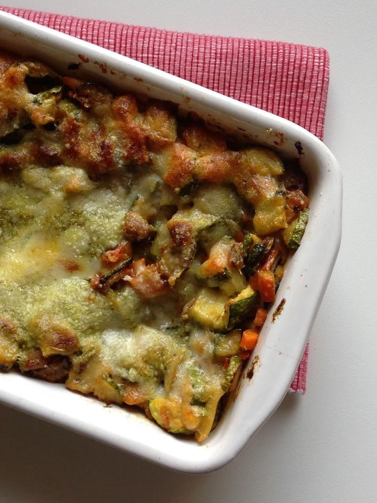 Lasagne con verdure senza besciamella