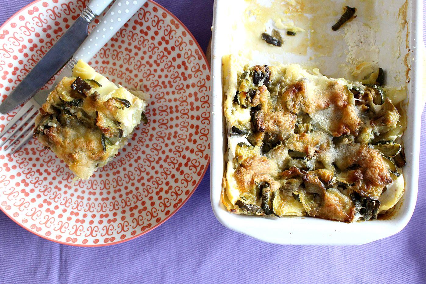 lasagne zuccchine melanzane