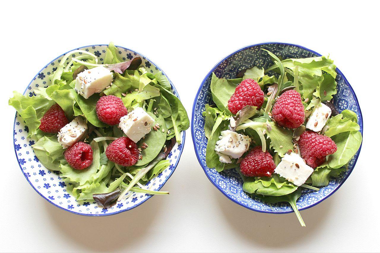 insalata feta lamponi 3