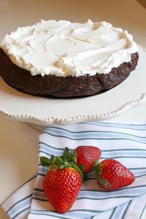 torta al cioccolato senza glutine 2