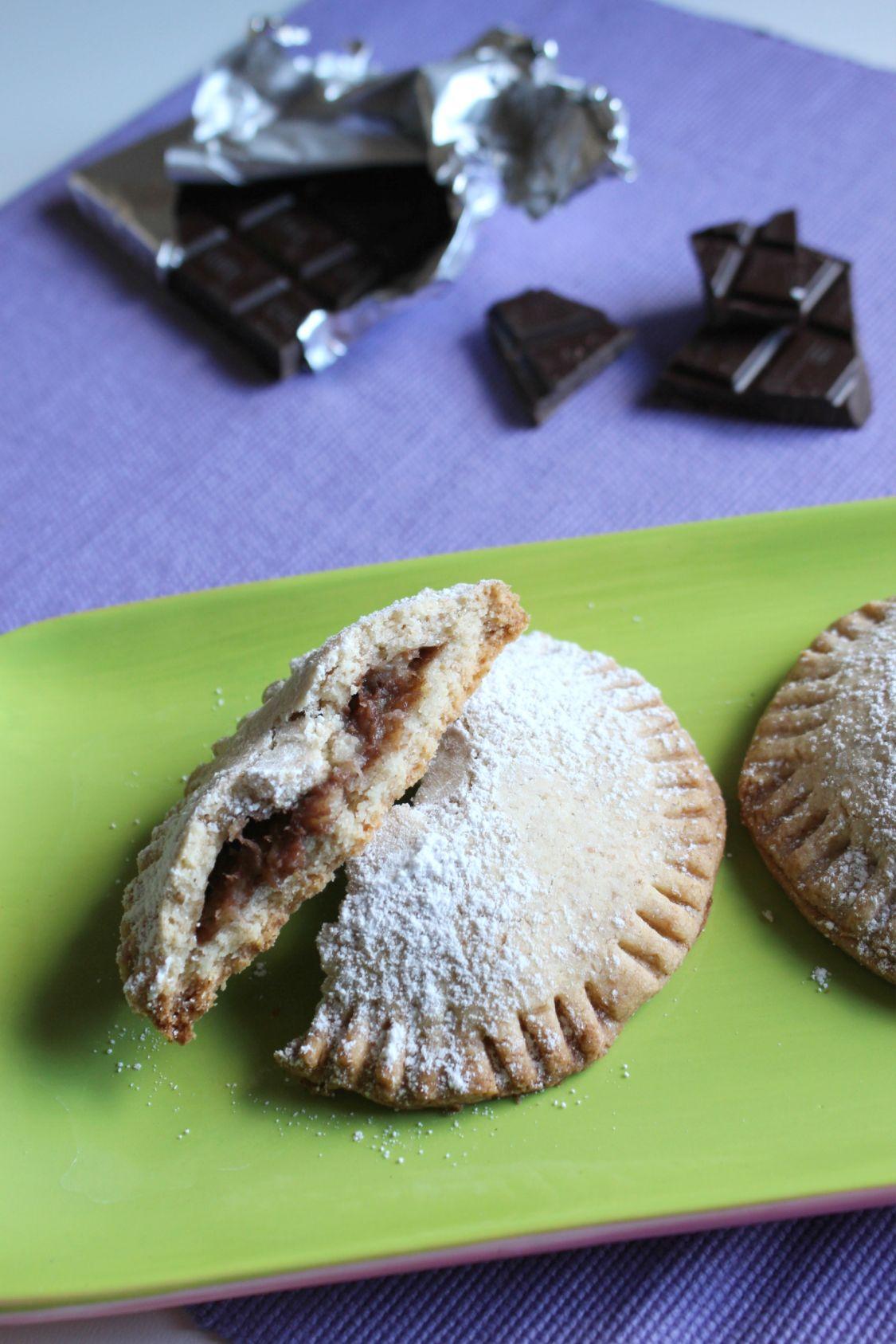 Biscotti ripieni bananan e cioccolato2
