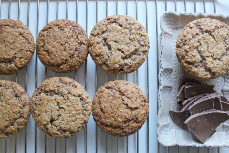 muffins cioccolato, mandorle, cocco