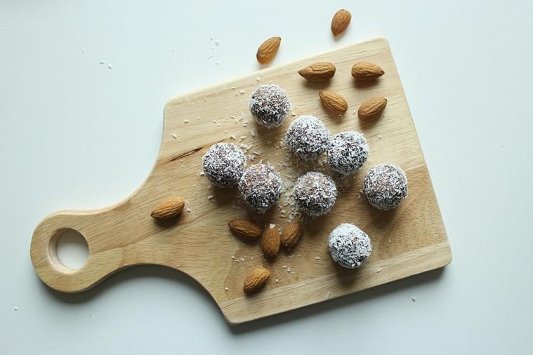 palline frutta secca raw food 3