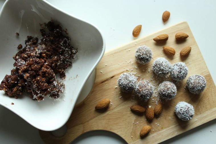 palline frutta secca raw food 4