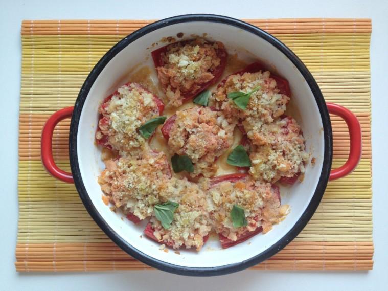 pomodori ripieni in padella 2
