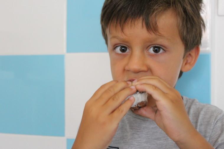 ometto biscotti gelato