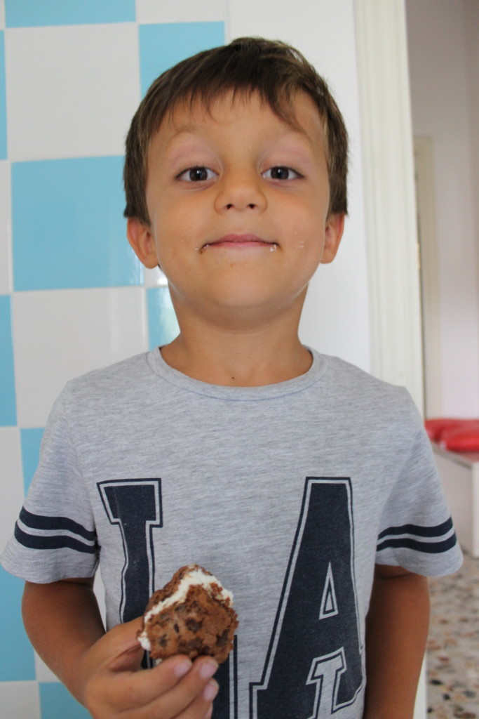 ometto biscotto gelato