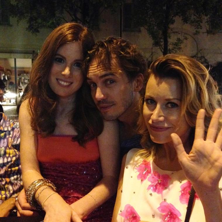 Raffello Balzo, Sarah Maestri e Giorgia Wurth