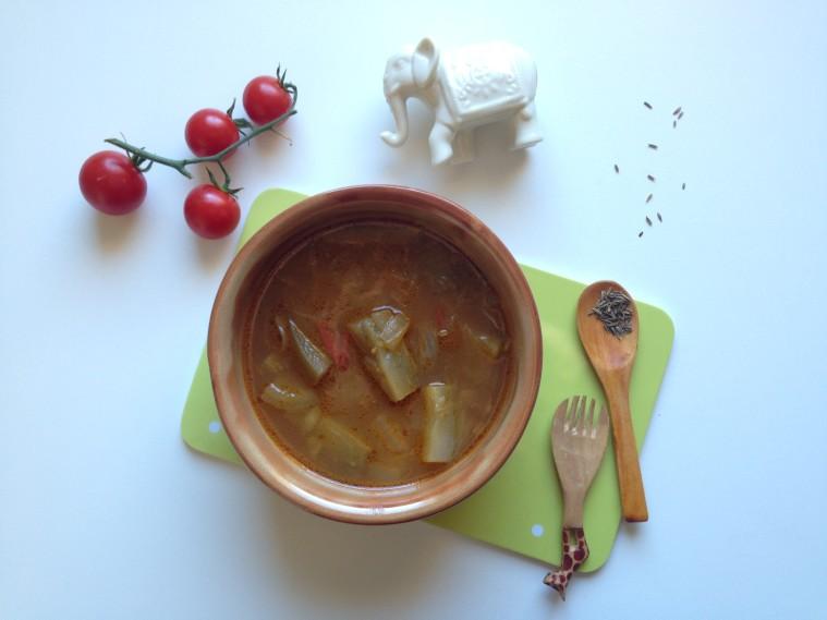 zuppa di melanzane