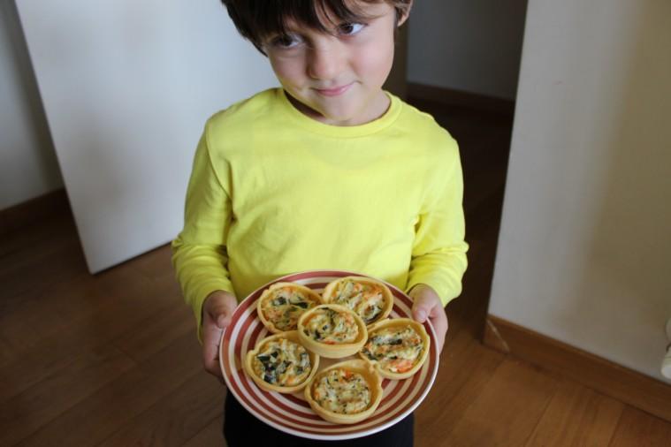 crostatine di verdure