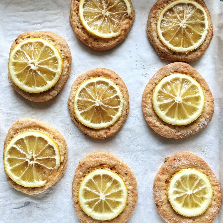 biscotti vegani al limone