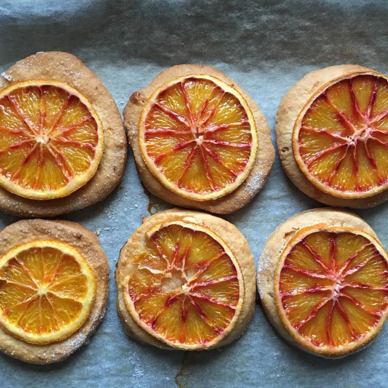 biscotti vegani all'arancia