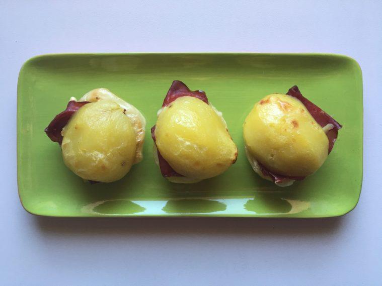 sandwich di patate e bresaola