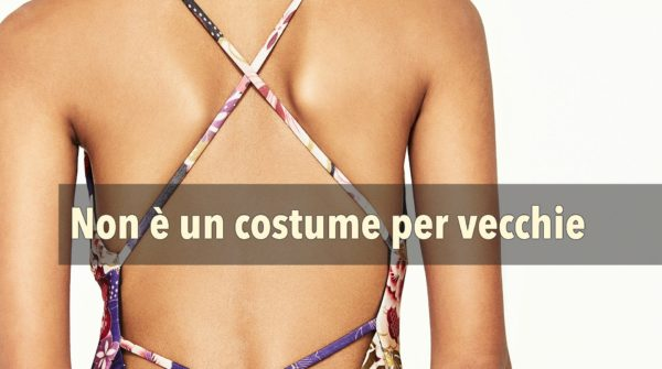 Costumi interi per l'estate 2017