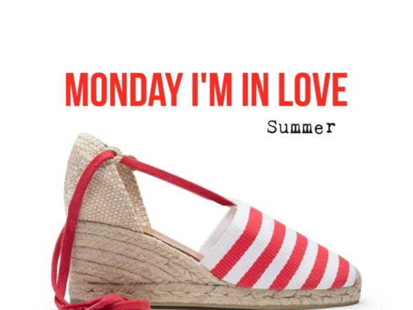 Monday I'm in love. Summer