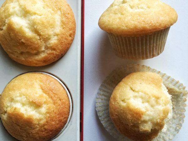Muffin acqua e limone