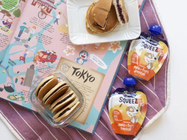 Dorayaki alle mele
